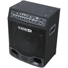 "Line 6 LowDown LD300 Pro 300W 1x15"" Modeling Bass Combo Amp - The Line 6 LowDown LD300 delivers an incredible array of dialed-in, stage-perfected bass tones with 6 killer bass amp models. It offers sonic flexibility with a modeled vintage studio compressor and 3 critical bass-specific effects. All of that is fed into an oversized, high-speed power amp that delivers fantastic articulation and low-end punch through the 15"" woofer and high-frequency tweeter. 4 programmable channel memories let…"
