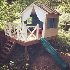 Instagram Snap, Play Houses, Kids And Parenting, Gazebo, Castle, Yard, Cozy, Outdoor Structures, Treehouse