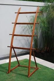 Pool Towel Drying Rack Classy Ladder Towel Rack For The Pool Have To Do It #hottubs  Whirlpool Design Inspiration