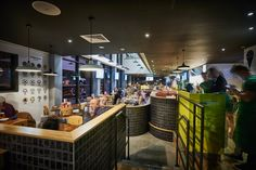 Cafe Football is part of Hotel Football, a football-themed hotel near Old Trafford football stadium. Its owned by ex-footballers that include Ryan Giggs and Paul Scholes. They also entered our 'Most Stylish Hotel or B&B' category. #HildenStyleAwards