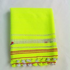 $48 RIF TOWEL- NEON YELLOW by Proud Mary