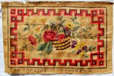 Maine Antique Digest - Hooked Rugs: Rare Frost Rug Pattern in Farnsworth Museum Show