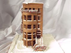 gingerbread brownstone. just like home but tastier.