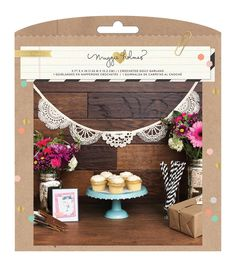Crate Paper Maggie Holmes Confetti Crocheted Doily Garland Party Kit