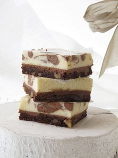 Chocolate mousse brownies 3