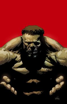 The Hulk by Leinil Yu *