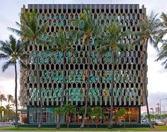 Mid Century Modern apartment building Hawaii