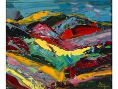 Pierre AMBROGIANI (1907-1985) : Paysage provençal