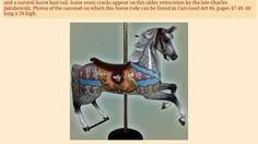 I would love a carosel horse like this in the corner of my room.
