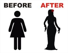 Before & After. So true! Once you start belly dancing, you become fabulous! www.bellydancelessonsonlione.com