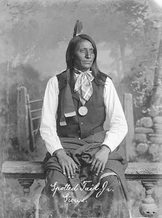 Destined for greatness and an early death, Spotted Tail, the great chief of the Brulé Sioux, was born in 1823 on the White River in South Dakota. His sister was the mother of Crazy Horse, and he was a first cousin to Conquering Bear, the man named by the U.S. government as the chief of the tribe at Fort Laramie in 1851. Spotted Tail was not a hereditary chief but received recognition based on his ability and character.read his story…