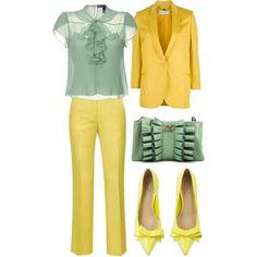 groc i verd, created by nuria-pellisa-salvado on Polyvore