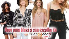 Rock com Luxo: Sorteio: Quer uma blusa à sua escolha da Banggood?...