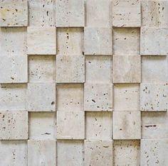 Brogliato Revestimentos - Coleções - 3D Mosaic - D010 Travertino Romano - 30x30cm.