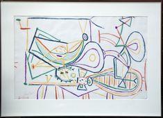 Pablo Picasso - COMPOSITION, 1940s, Lithograph