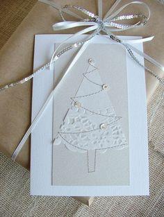 VENTA papel del tapetito: árboles de Navidad de cuatro por moonmum