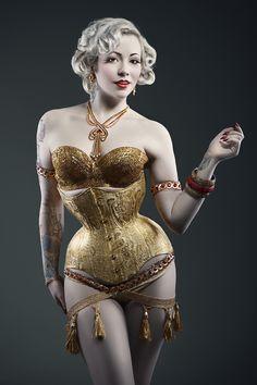 Model: Stephanie van der Strumpf Photo: Luci Kout (Inspiration for a girl at Noblesse's birthday celebration)