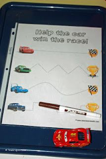 transportation and the letter K activities for tot school
