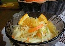 Ovocný salát se zelím