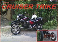Honda GL 200 Tiger Reverse Trike