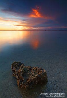 Coucher sur Le Lagon Saints, To Go, Europe, France, Celestial, Sunset, Water, Places, Outdoor