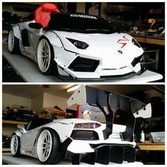 Lamborghini kid stance pedal car