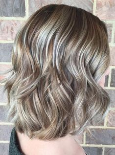 Bronde Balayage Hair Color Trends for Short Hairstyles 2017