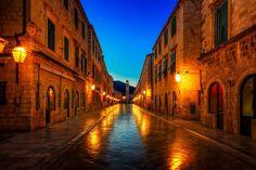 Dubrovnik at night • Croatia