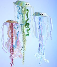 Jellyfish, lobsters, octopi and more