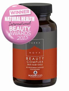 Terranova Beauty Complex Skin Hair & Nails - 50caps - Terranova