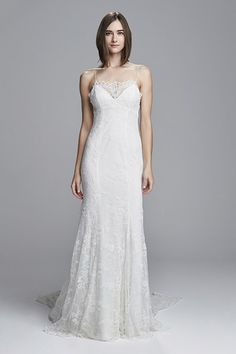 See every dress from the Christos Spring 2017 wedding dress collection, straight from the Bridal Fashion Week runways! Spring 2017 Wedding Dresses, Wedding Dresses Photos, Wedding Dress Styles, Spring Dresses, Designer Wedding Dresses, Bridal Dresses, Wedding Attire, Bridal Collection, Dress Collection