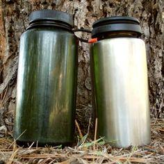 Nalgene Vs. Steel Water Bottles