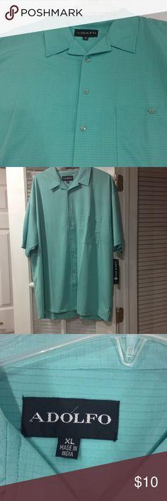 XL Adolfo shirt new with tags XL Adolfo shirt new with tags Adolfo Shirts Casual Button Down Shirts