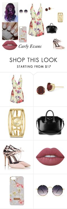 """O Segredo de Ava Kavanagh Grey - 3° Temporada"" by nadine-lima ❤ liked on Polyvore featuring Nine West, Givenchy, Fratelli Karida, Sephora Collection, Lime Crime, Ted Baker and Spitfire"