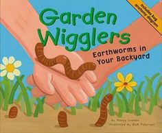 Garden Wigglers: Earthworms in Your Backyard by Nancy Loewen. Describes the physical characteristics, life cycle, and behavior of earthworms. Includes anatomy diagram and activity.