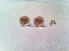SuperWhoLock earrings !