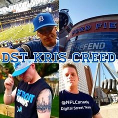 """Meet Your Digital Street Team — What's up NFL fans!? I'm Kris Creed from Canada's southernmost big city, Windsor Ontario! When I'm not working my next deal as a Senior Sales & Leasing Consultant with GM, I'm helping my Detroit Lions #DefendTheDen! Some have referred to me as the """"Unofficial Guide to the Detriot Lions,"""" so lets talk Detriot, Windsor and NFL Football on Twitter @Kdawgone."""