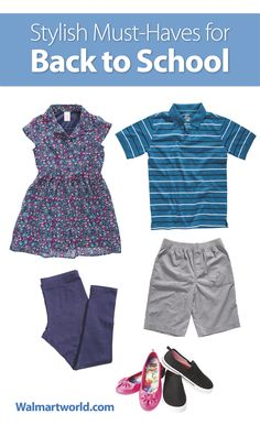 Help your kids ace their back-to-school style with these must-have pieces. #school #ideas #style #fashion