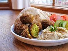 Bint Rhoda's Kitchen: Palestinian Chickpea Fritters, or Falafel