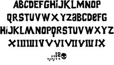 Goonies font by Filmfonts - FontSpace