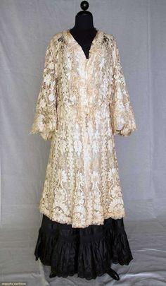 Edwardian Battenburg Lace Coat, Augusta Auctions, November 10, 2010 - St. Pauls - NYC, Lot 302