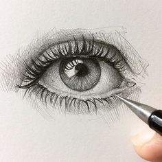 Amazing Learn To Draw Eyes Ideas. Astounding Learn To Draw Eyes Ideas. Pencil Drawing Tutorials, Pencil Art Drawings, Art Drawings Sketches, Art Tutorials, Eye Drawings, Drawing Tips, Pencil Portrait, Portrait Art, Realistic Eye Drawing