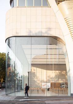 Le Toison d'Or by Jaspers-Eyers Architects (www.jaspers-eyers.be) & UNStudio (www.unstudio.com). Photography by Jeroen Verrecht (www.jeroenverrecht.com)
