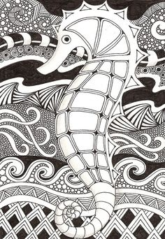 Seahorse by banar, via Flickr
