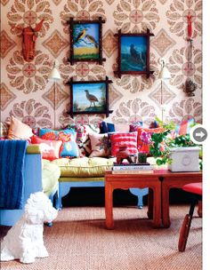 See the World Through Pattern and Colour, Designer extraordinaire, Allegra Hicks