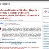 """han pasado Robert Winnicki hajluje do swoich w ladino sefardyjskich: pe - GIT - a ! (PEGIDA.il-pl)  http://sowa.quicksnake.es/USOPAL/Koncelebrowali-ksia-Skubi-Wojcik-i-Piwowarczyk-a-chlao-ydostwo-protegowane-przez-Bendera-Winnicki-z-Meduzami-etc """"wiele wyrażeń jak klaun stały się częścią językiem ladin Żydów Sefarditas, git"""".  - prof. Stan David Ligoń   Przetlumaczenie automatyczne  han pasado Robert Winnicki hajluje  swoich w ladino…"""