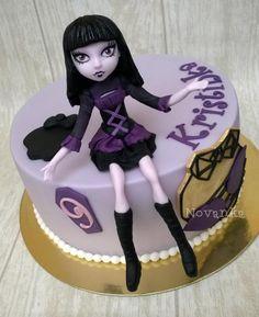 Monsterka torta, Torty pre dievčatá, Autorka: Novanka
