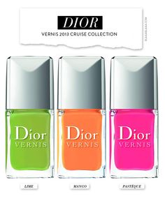 Dior Vernis 2013 Cruise Collection