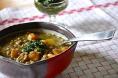 Lentil and Butternut