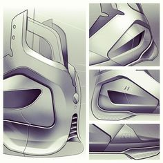 Android Propulsion Sneakers by Mr Bailey, via Behance
